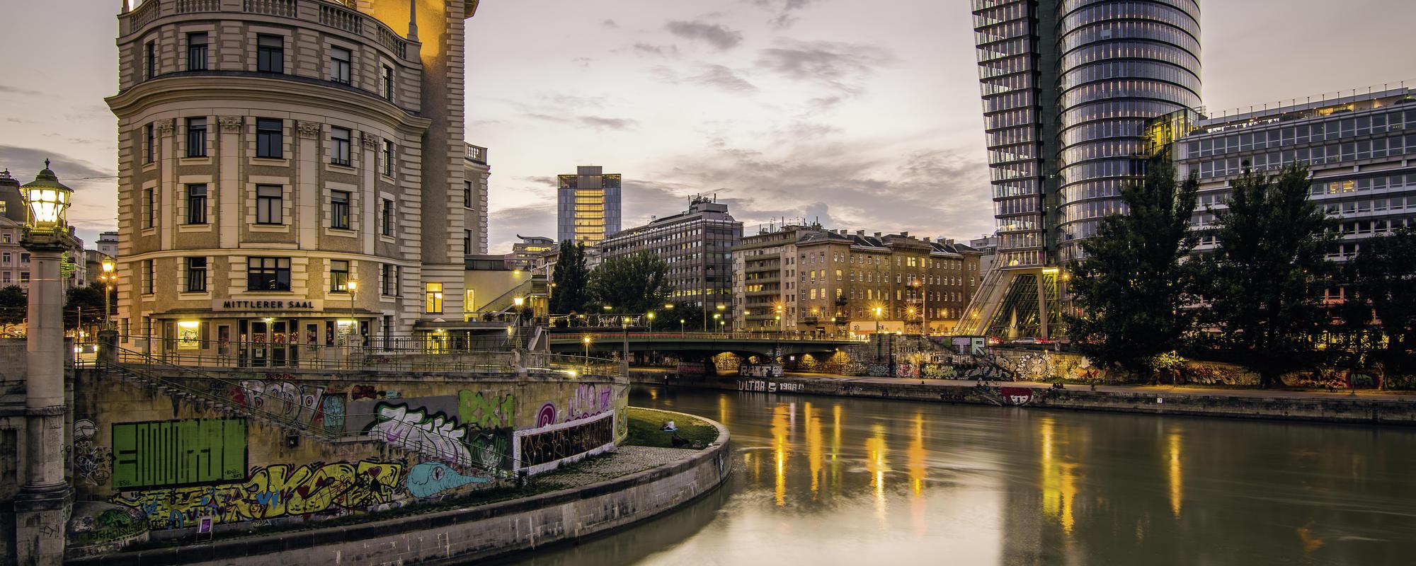 Donaukanal | © WienTourismus/Christian Stemper