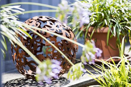 Garten im Hotel Hahn