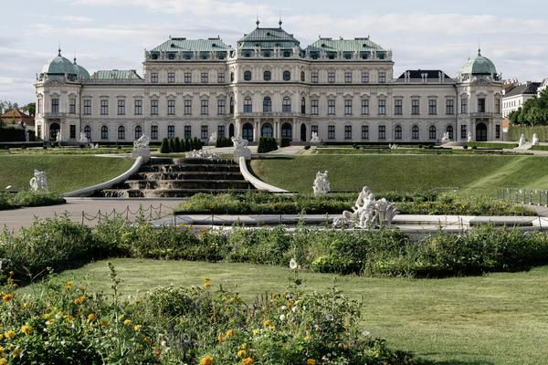 Oberes Belvedere | © WienTourismus/Gregor Hofbauer