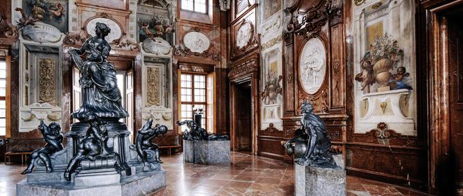 Marmorsaal im Unteren Belvedere | © WienTourismus/Paul Bauer
