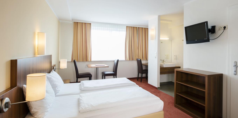 Doppelzimmer im Hahn Hotel Vienna