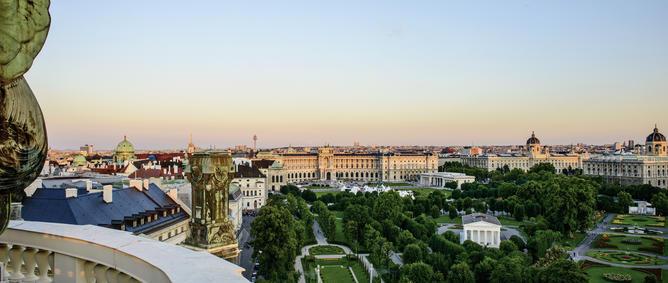 Heldenplatz und Museen | © WienTourismus/Christian Stemper
