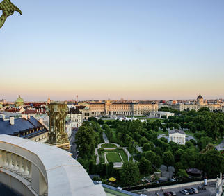 Heldenplatz und Museen   © WienTourismus/Christian Stemper