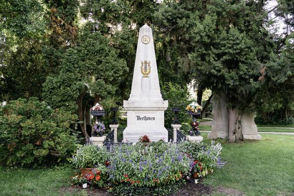 Zentralfriedhof, Ehrengrab von Ludwig van Beethoven | © WienTourismus/Gregor Hofbauer