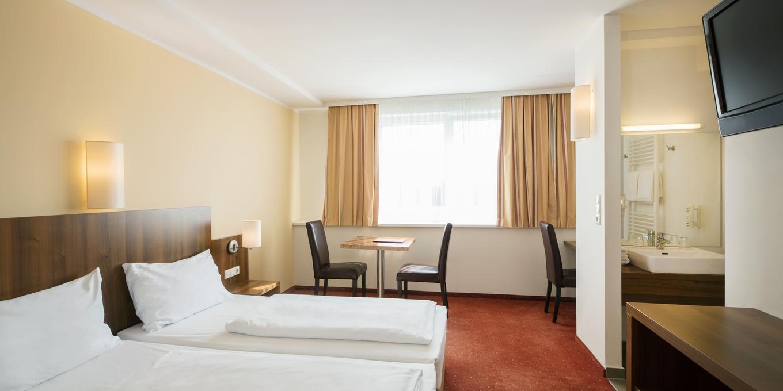 Doppelzimmer im Hahn Hotel
